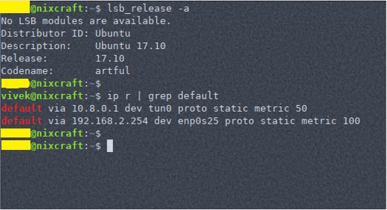 How to Find Default Gateway IP Address in Linux