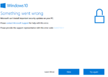 Windows Update Error 0x8007001F